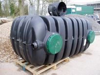 moulded tank